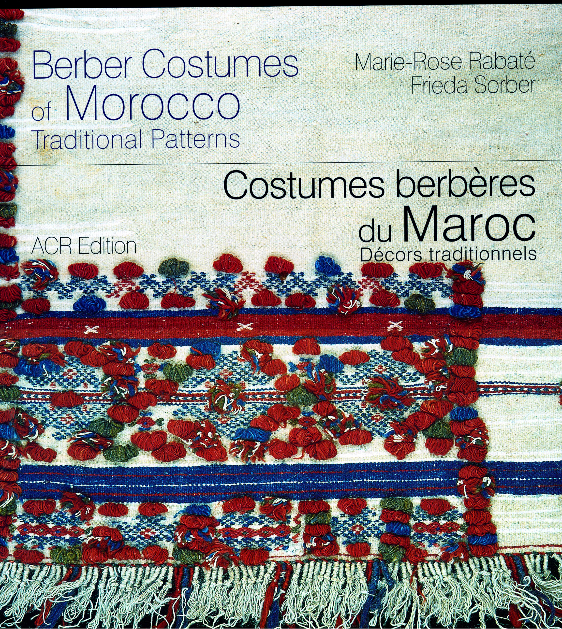 Read Online Berber Costumes of Morocco: Traditional Patterns pdf
