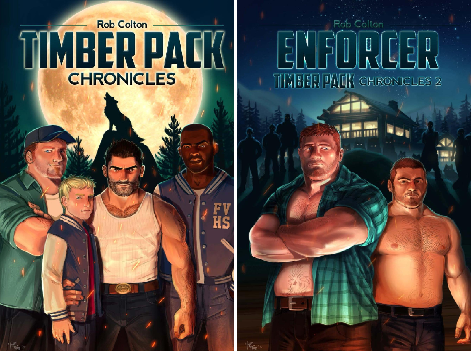 Timber Pack Chronicles (2 Book Series)
