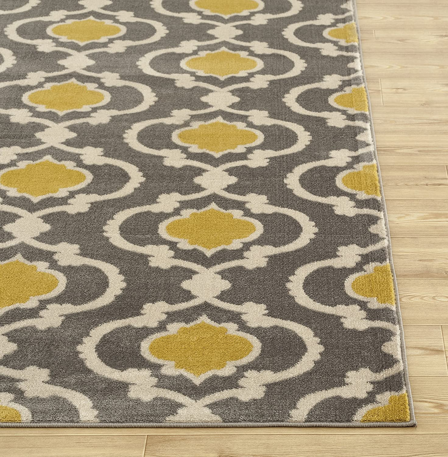 Amazon Rugshop Moroccan Trellis Contemporary Indoor Area Rug 5