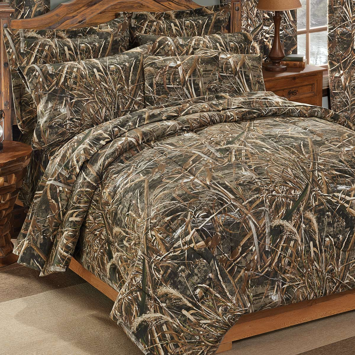 Max 5 Realtree Comforter Set - Full