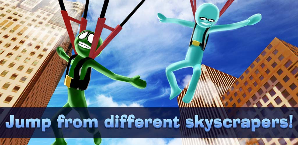Skyscraper Tycoon Stickman Sports: Base Jumping Game | High ...
