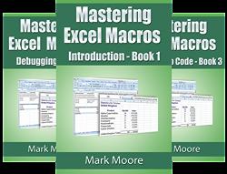 Mastering Excel Macros (8 Book Series) by  Mark Moore