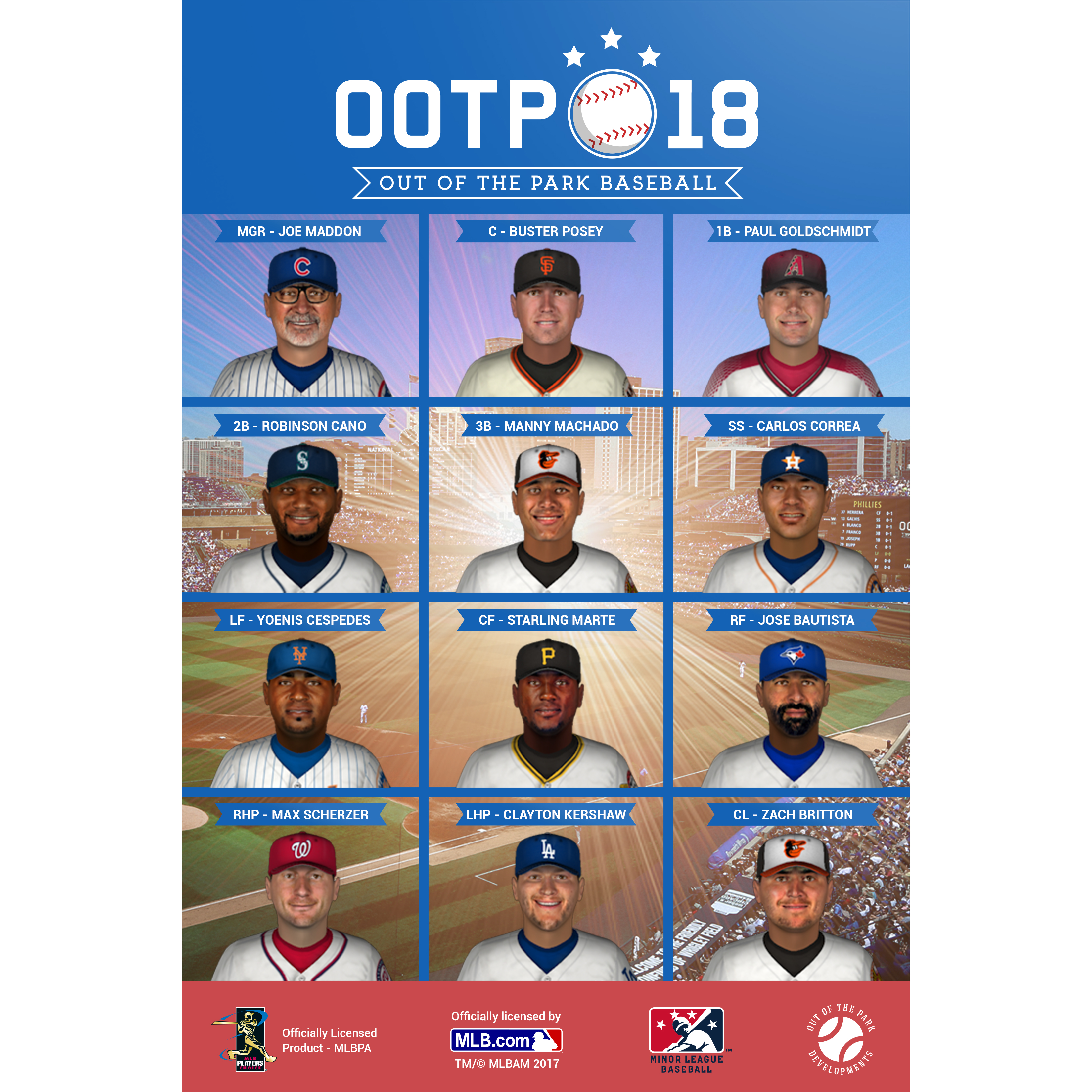 Out of the Park Baseball 18 [Online Game Code] by Out of the Park Developments