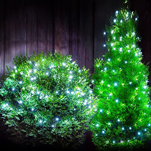 Babz 100 led solar garden string fairy lights rechargable solar lowest price babz 100 led solar garden string fairy lights rechargable solar powered outdoor xmas mozeypictures Image collections