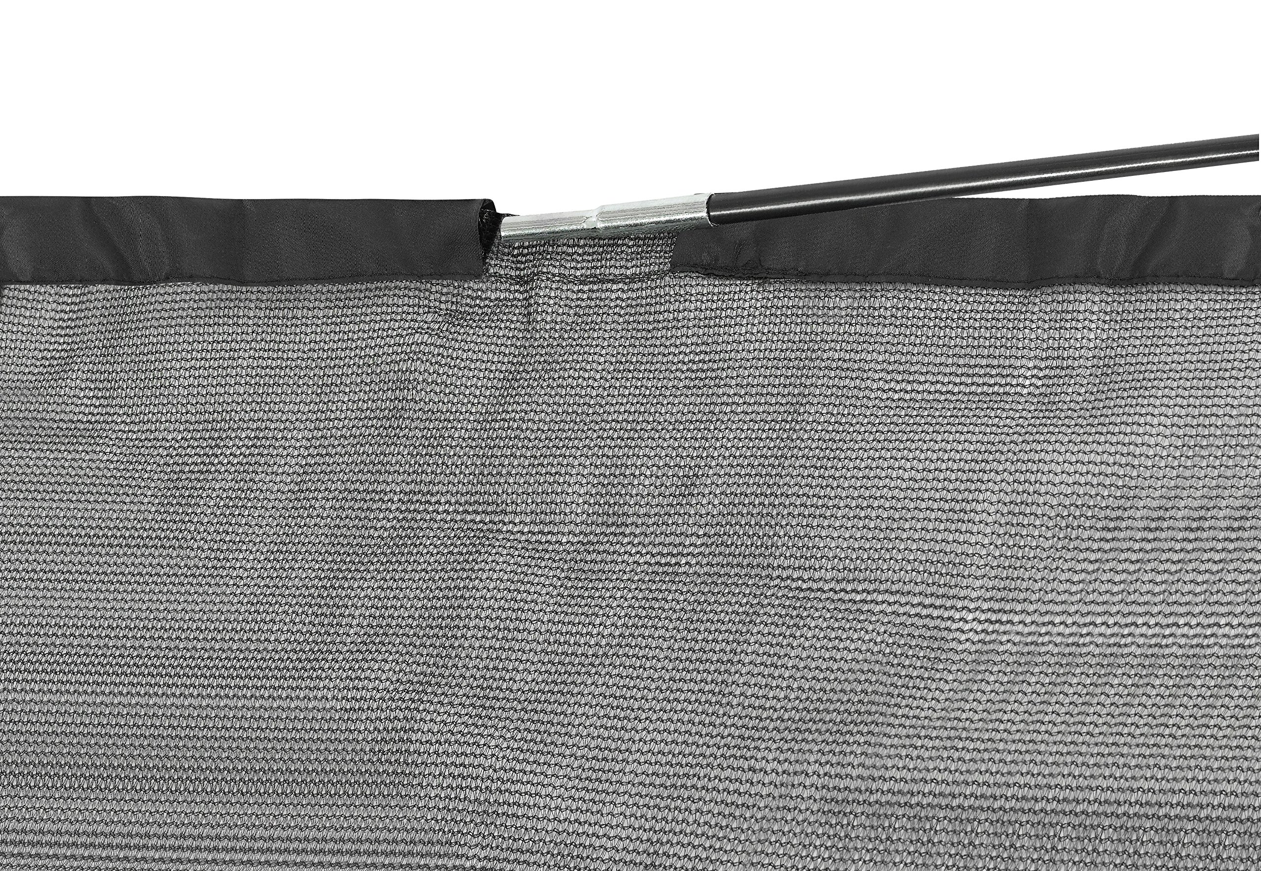 SKYTRIC Trampoline Enclosure Net (Universal) 15 ft Frame: 5 Curved Pole: with Top Ring Enclosure Systems -Sleeve on top Type- by SKYTRIC (Image #4)