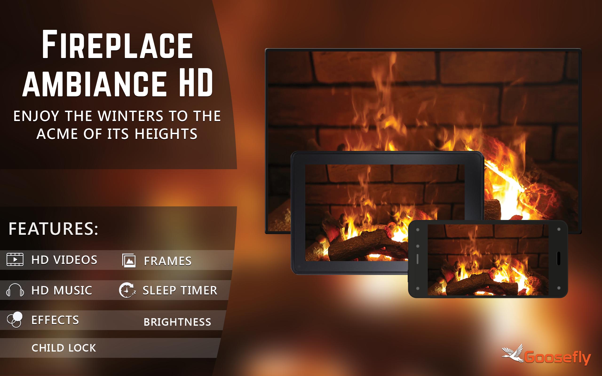 Amazon.com: Fireplace Ambiance HD - Wallpaper & Themes: Appstore ...