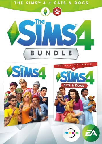 Get The Sims 4, The Sims 4 Cats & Dogs, and The Sims 4 Digital Deluxe content in one great bundle! You're in control of creating unique Sims, effortlessly building their homes, and exploring vibrant worlds. Add cats and dogs to you...