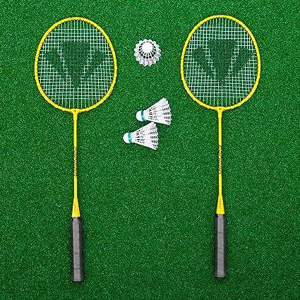 Set de raquetas de bádminton profesional raqueta y plumilla de bádminton  paquete  Net World c7fba01ebc212