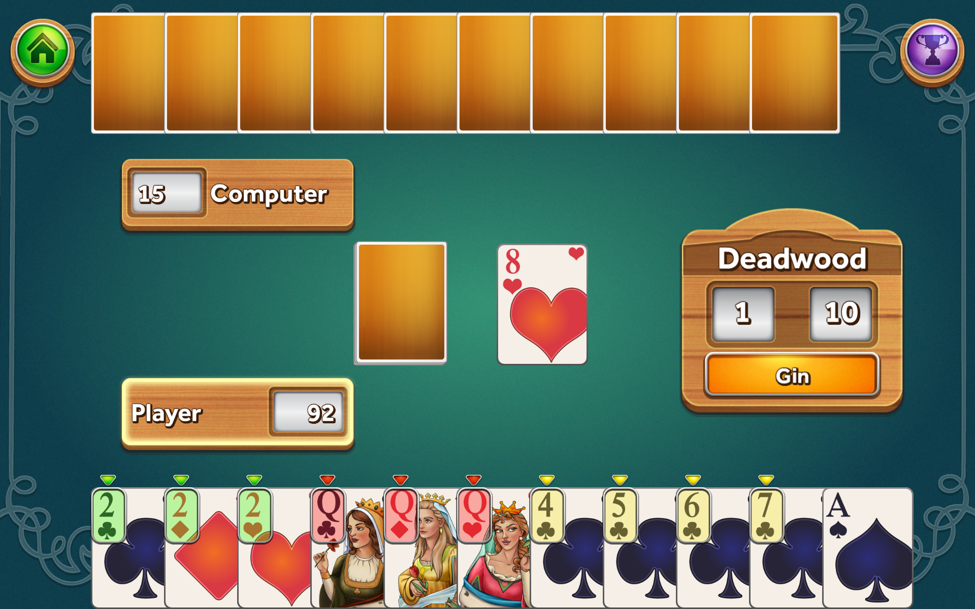 Amazon Gin Rummy Deluxe Appstore For Android