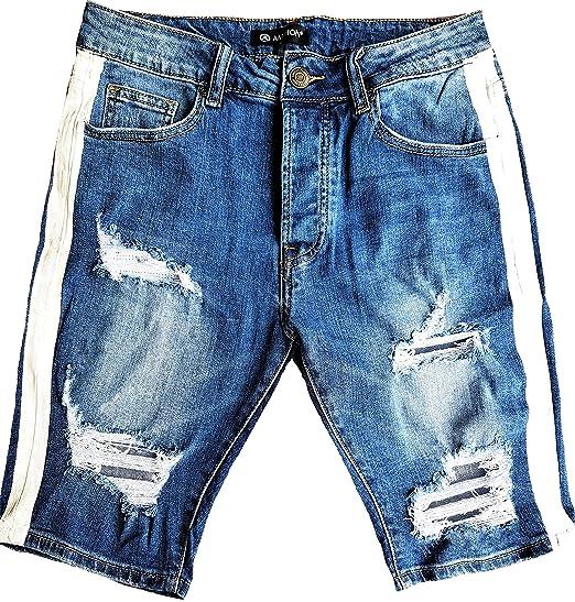 Damen Röhrenjeans Hüft Jeans Hose mit Gürtel Skinny Stretch Slim Fit Röhre