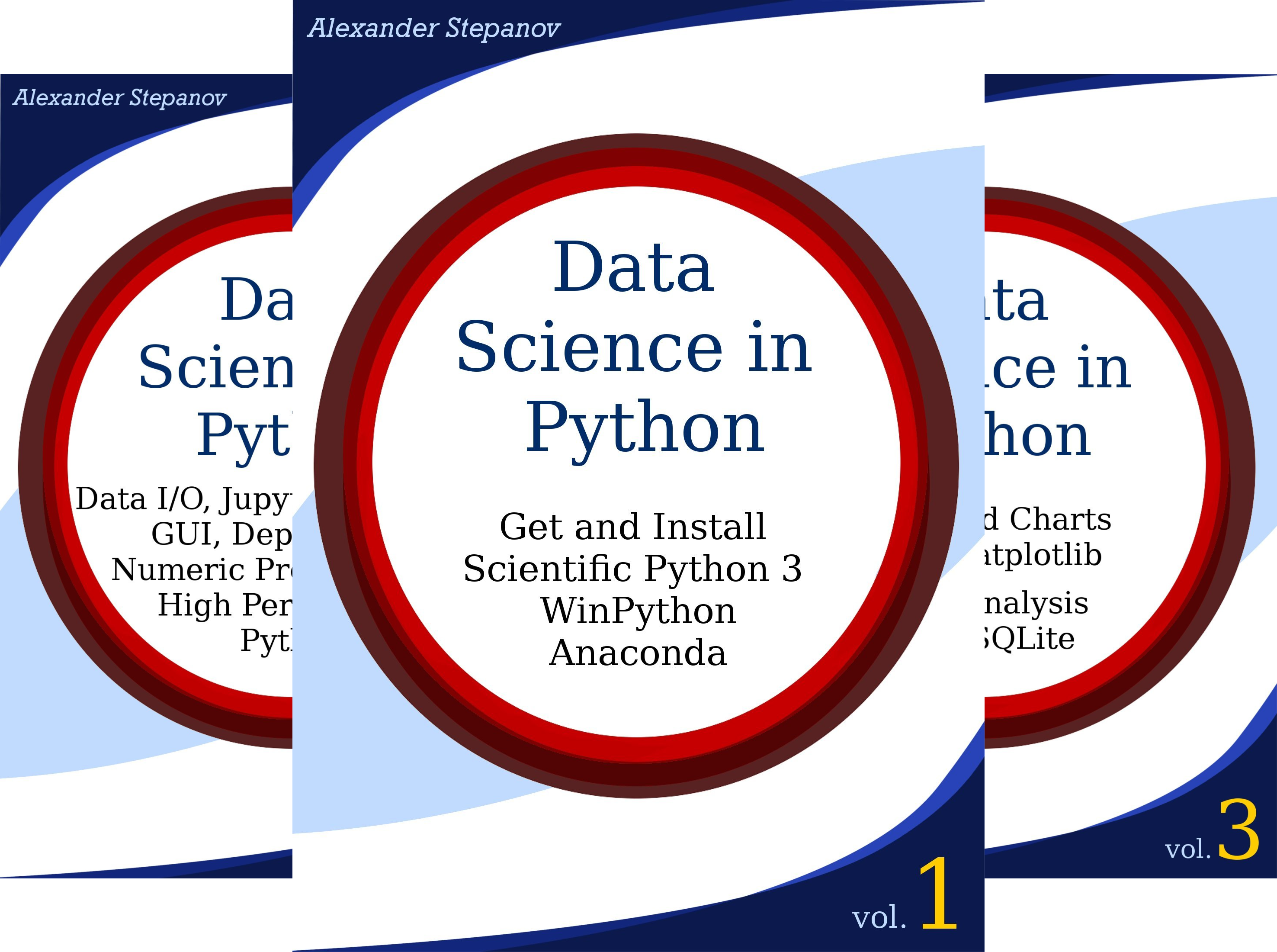Data Science in Python (3 Book Series)