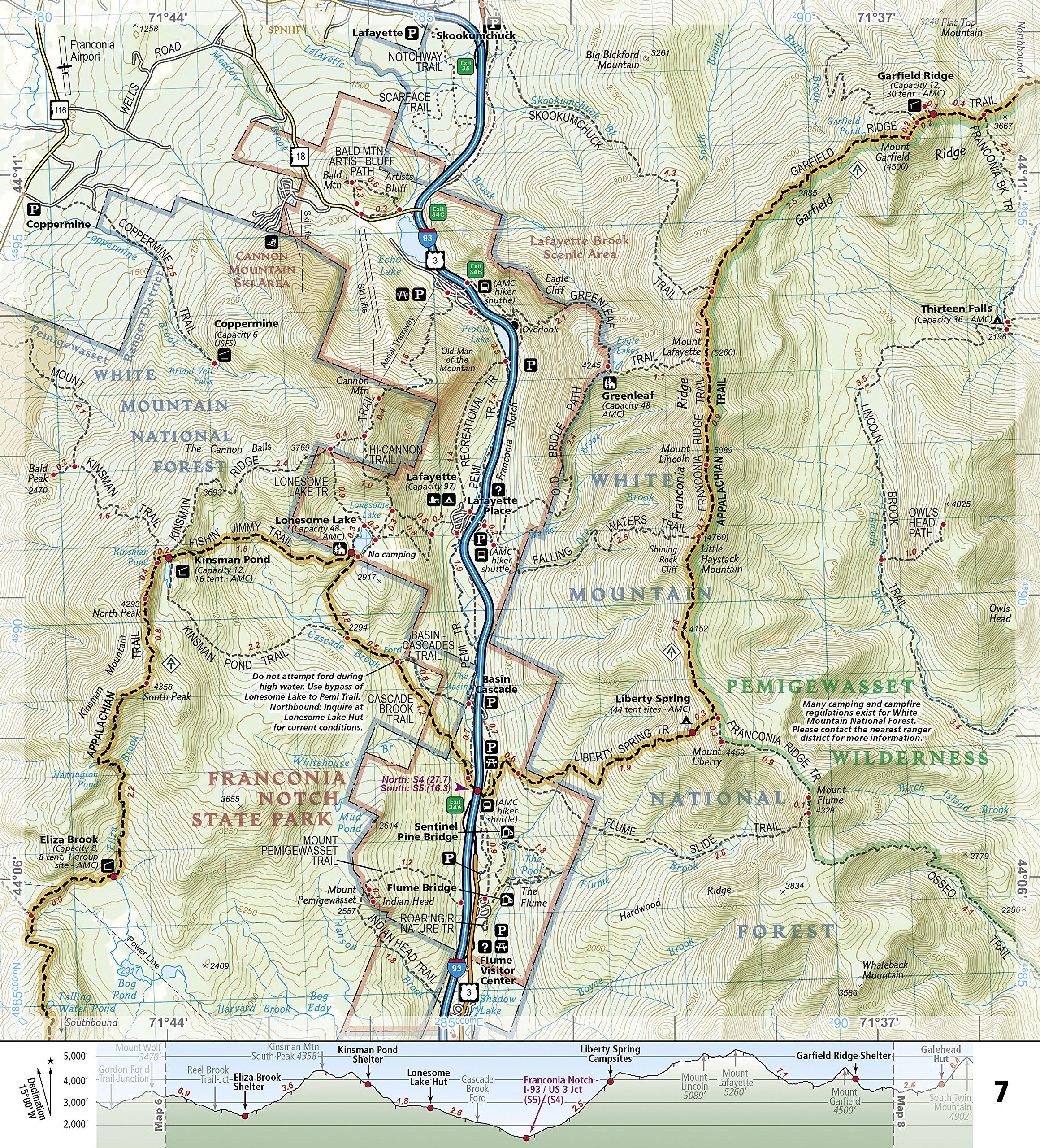 Appalachian Trail, Hanover to Mount Carlo new Hampshire National ...