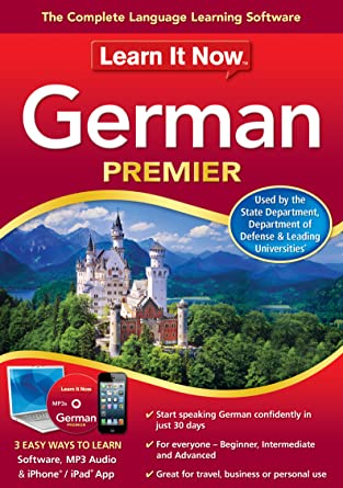 Amazon com: Learn It Now German Premier [Download]: Software