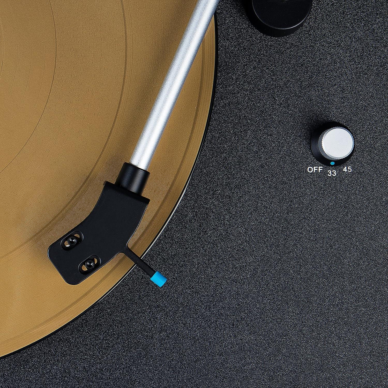 Blaupunkt TT 100 C Tocadiscos con pies y flexibles deckel ...