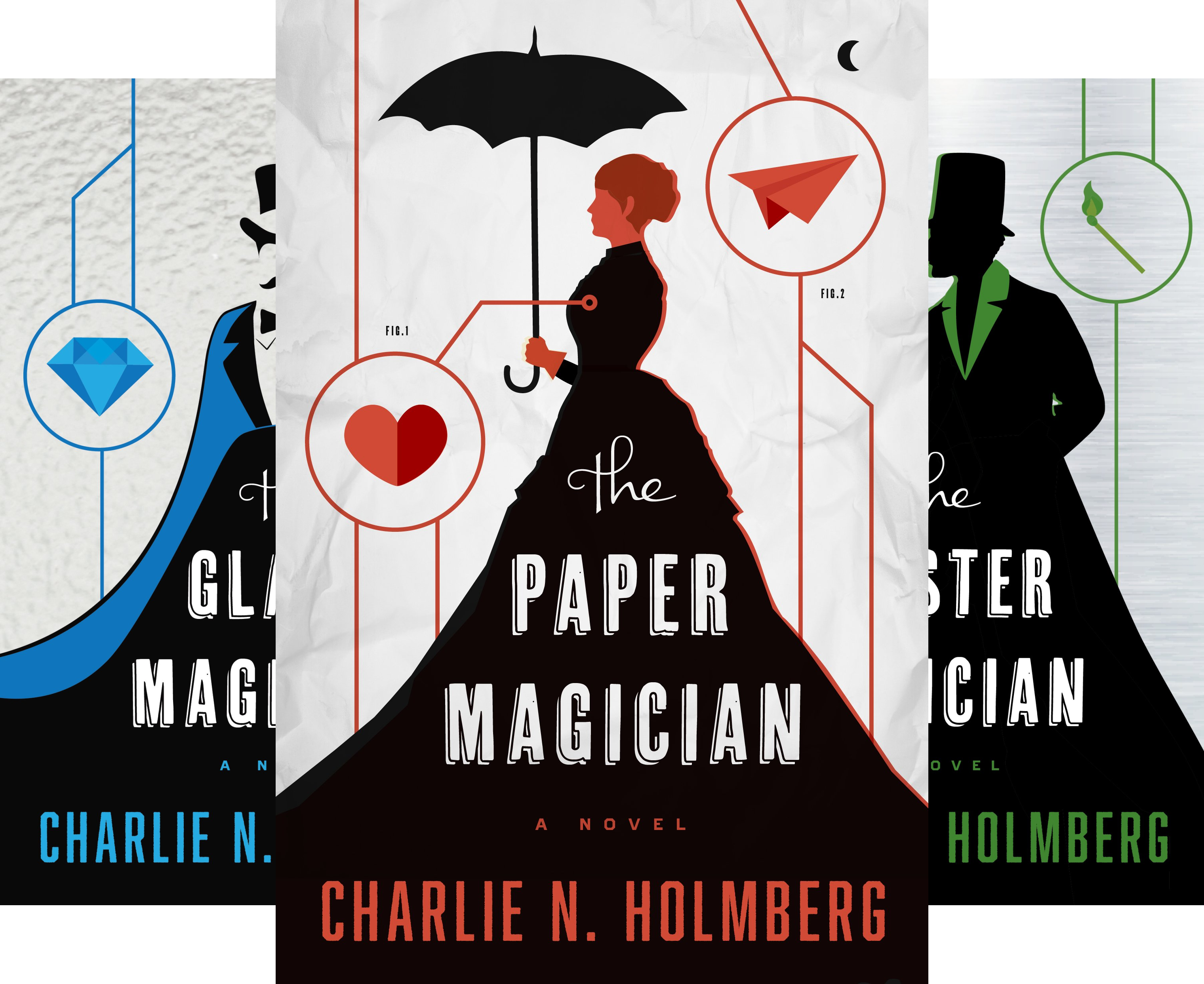 The Paper Magician Series (4 Book Series)