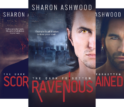 The Dark Forgotten (3 Book Series) by Sharon Ashwood