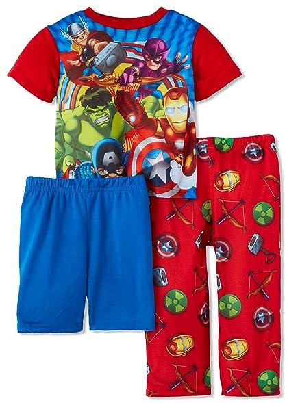 AME Sleepwear Little Boys Team Squad Pajama Set, Multi, ...