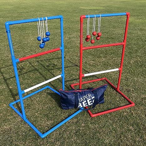 JAPER BEES Premium Ladder Ball Toss Game Set, Yard Game,Golf Toss, Blongo