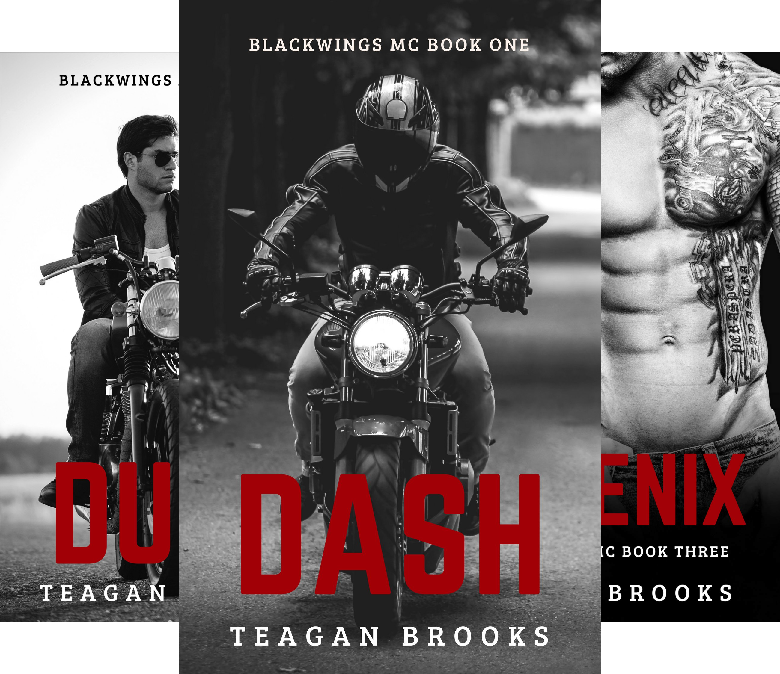 Blackwings MC (3 Book Series)