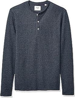 0d83b5c8044 Amazon.com  Billy Reid Men s Long Sleeve Mouline Henley  Clothing