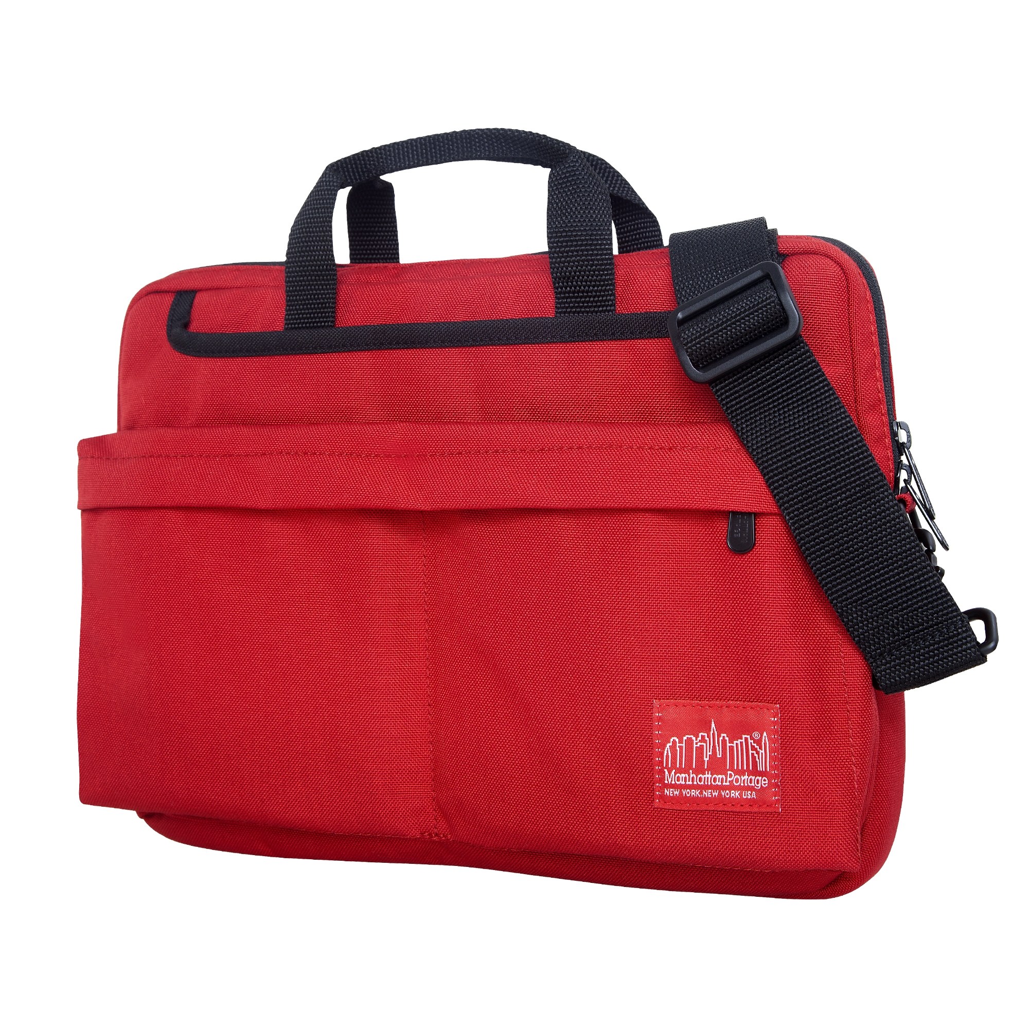 Manhattan Portage Convertible Deluxe Laptop Bag (Red, 13-Inch)
