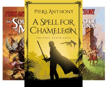 Xanth series by Piers Anthony