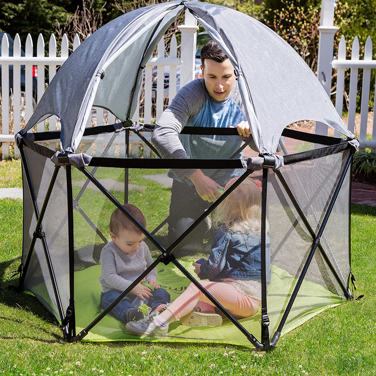 Play Yard Tent Amp Get Quotations 183 Baby Play Yard 1 3 Years