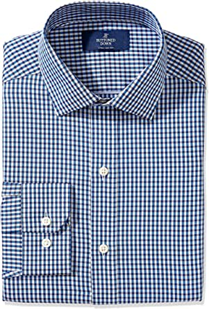 Buttoned Down Men's Fitted Pattern