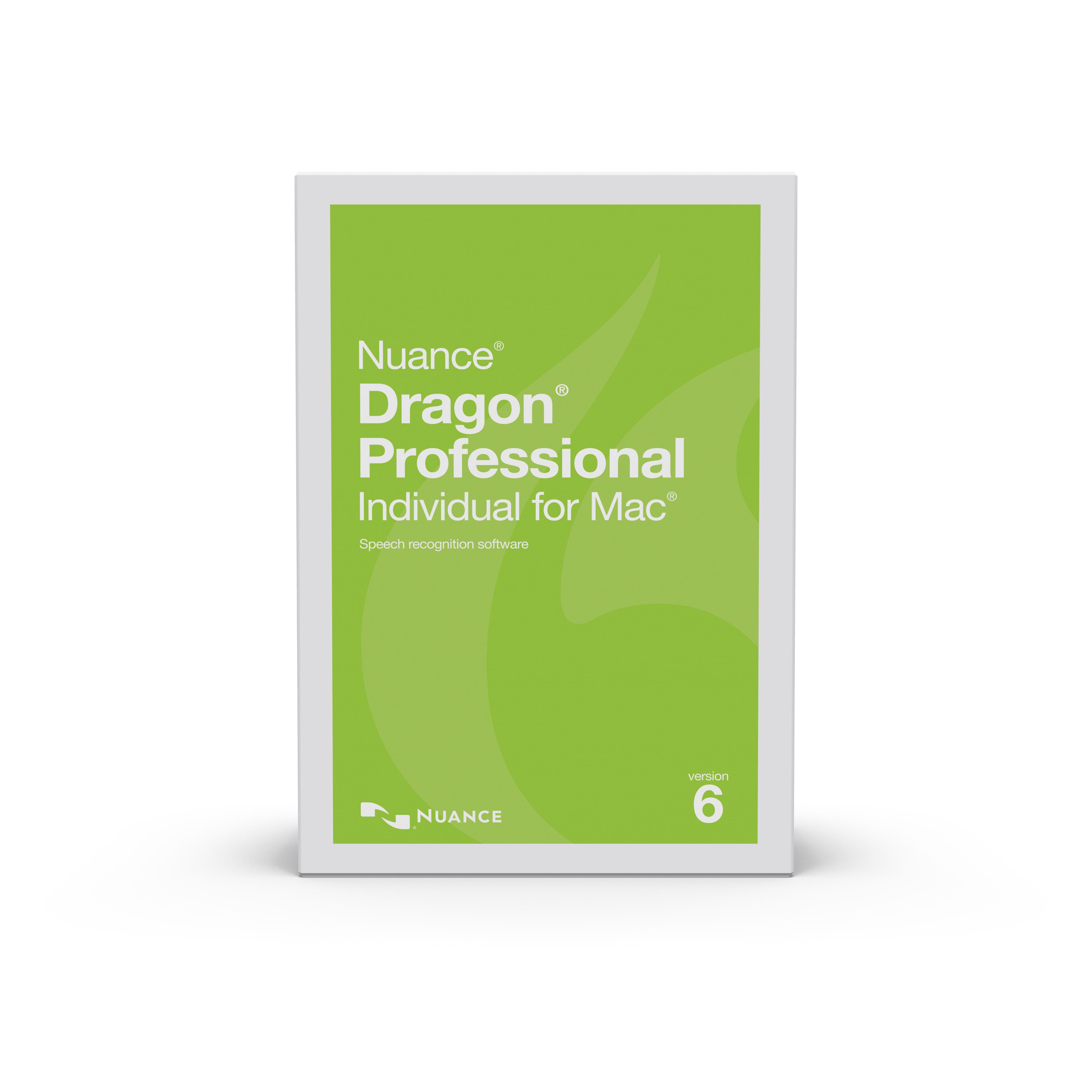 Dragon Professional Individual for Mac V6 [Download] (Transcriptions Note Vocal)