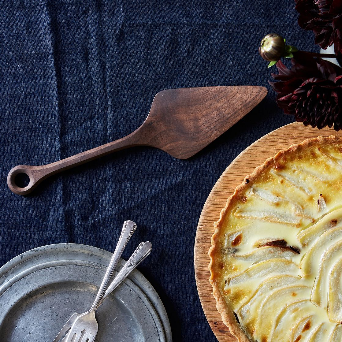 Black Walnut Wooden Pie Server on Food52