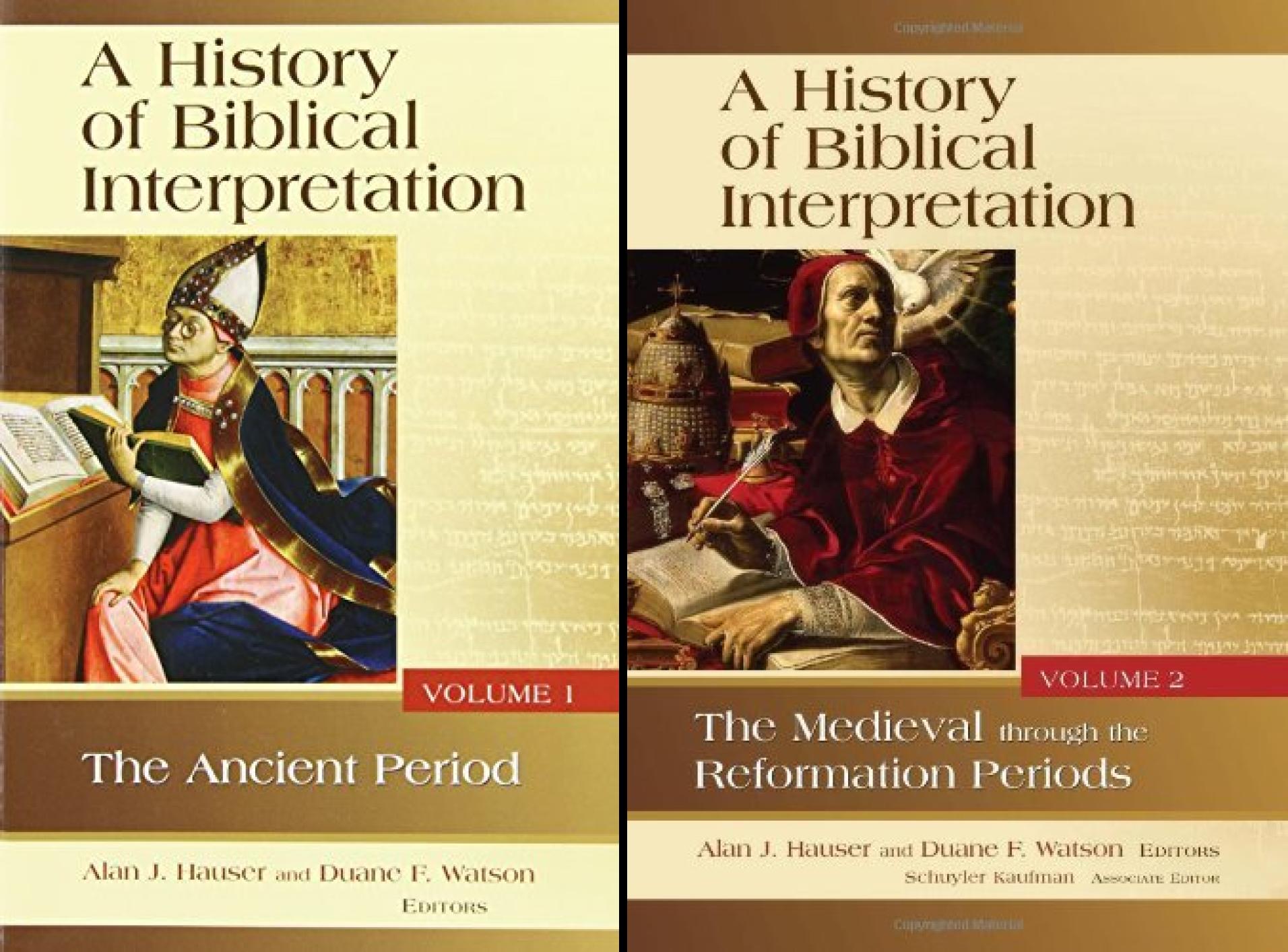 History of Biblical Interpretation Series (2 Book Series)