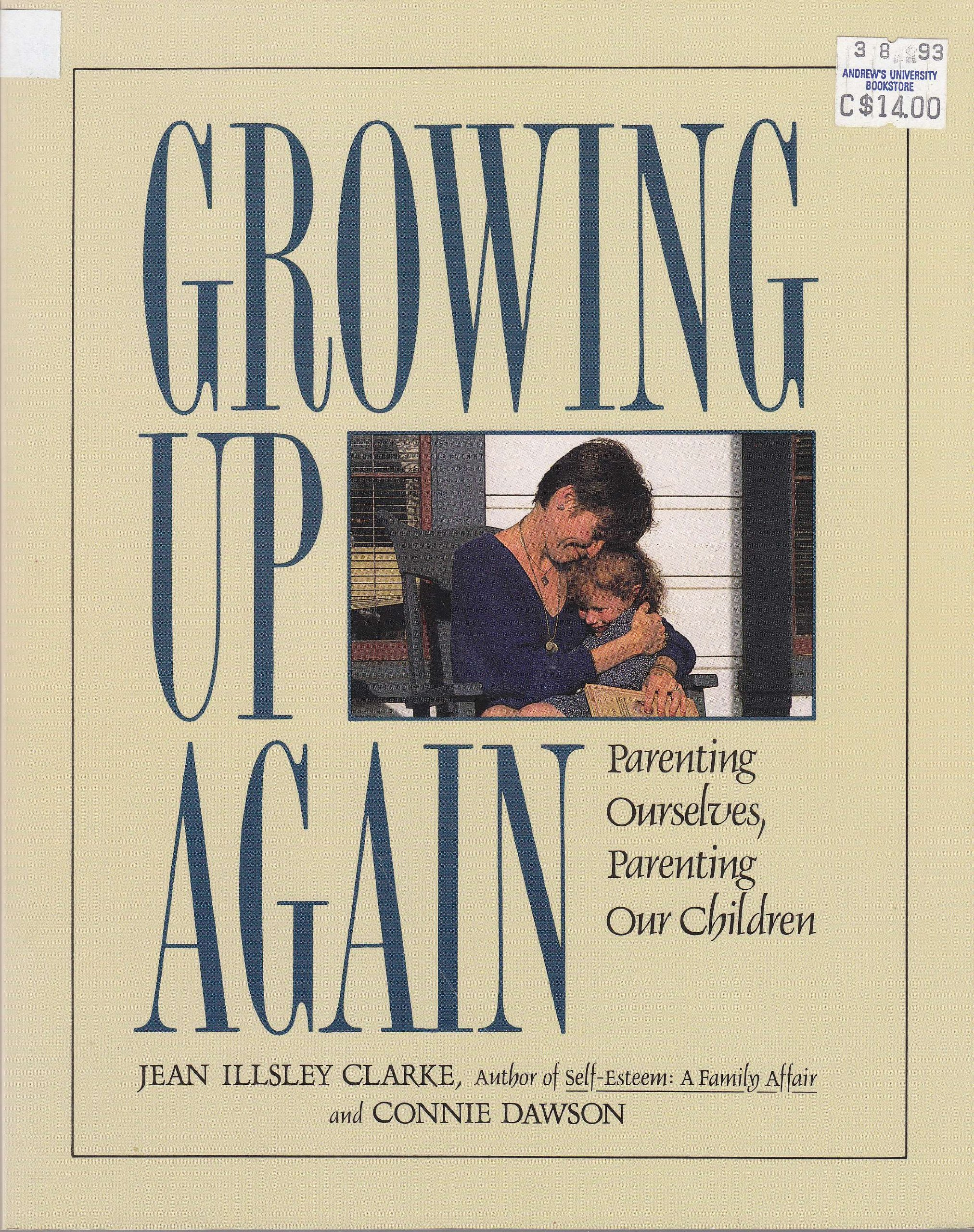 Image for Growing Up Again