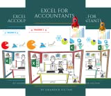 EXCEL FOR ACCOUNTANTS (3 Book Series)