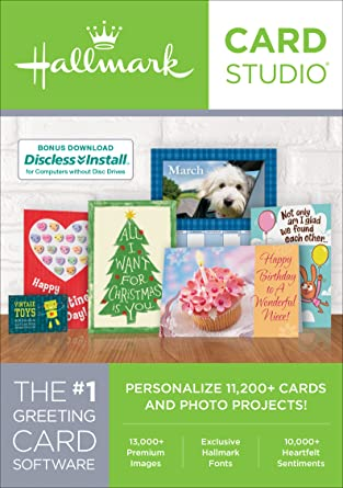 Amazon hallmark card studio 2018 download software hallmark card studio 2018 download m4hsunfo
