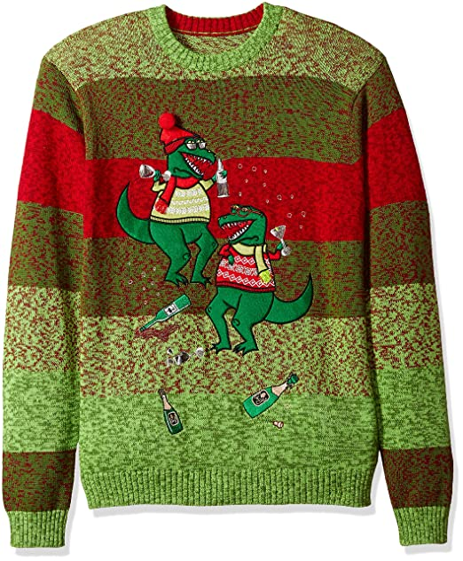 feac7f060 Blizzard Bay Mens T-rex Party Crew Neck Ugly Xmas Suit Jacket: Amazon.ca:  Clothing & Accessories