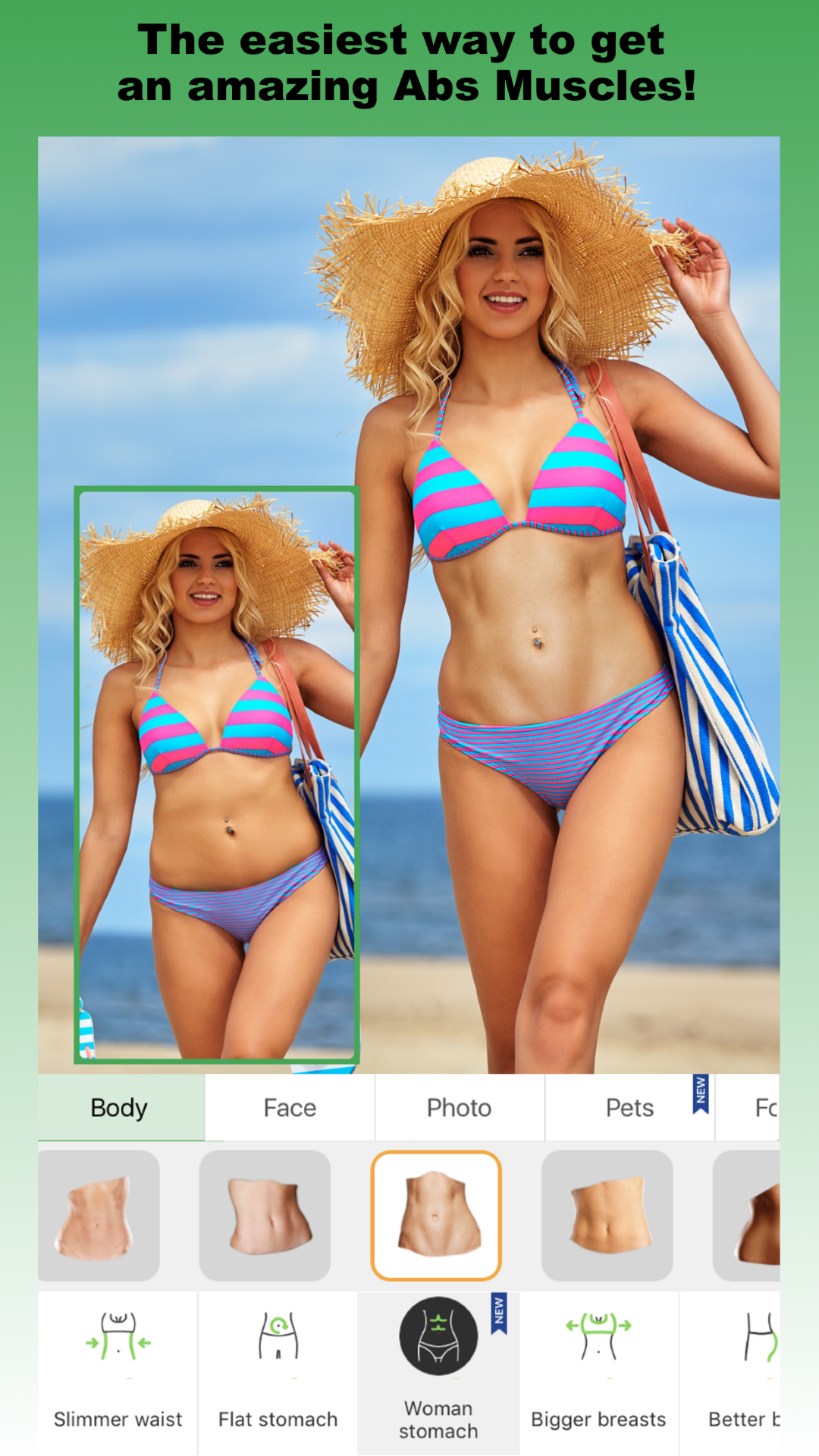 Retouch Me: body, skin & face Editor for Beauty Photo  Skinny app for  Perfect Selfie photos