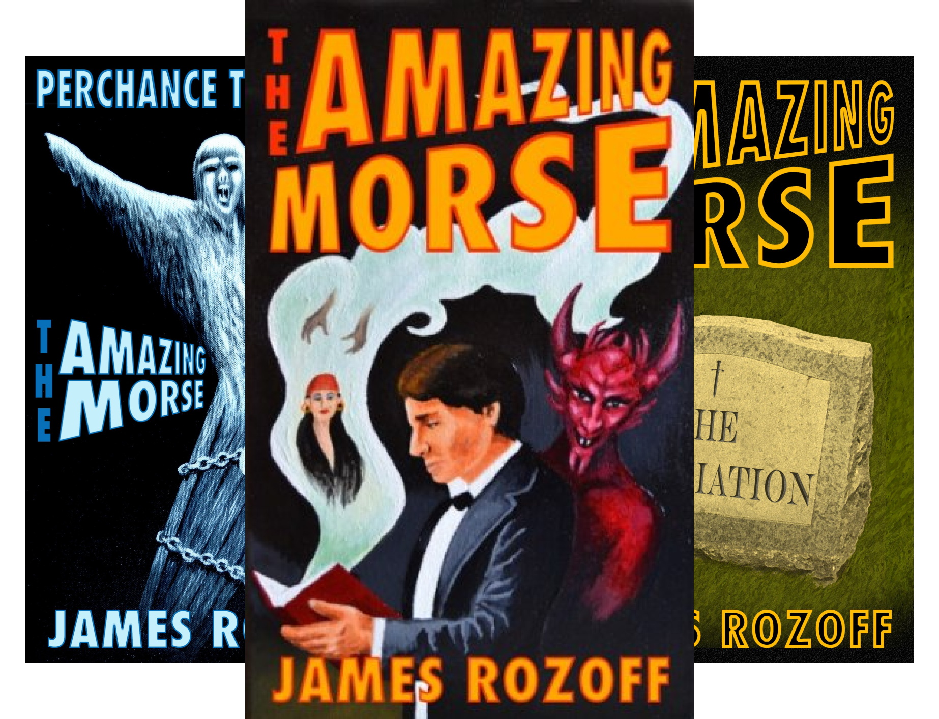 The Amazing Morse (3 Book Series)