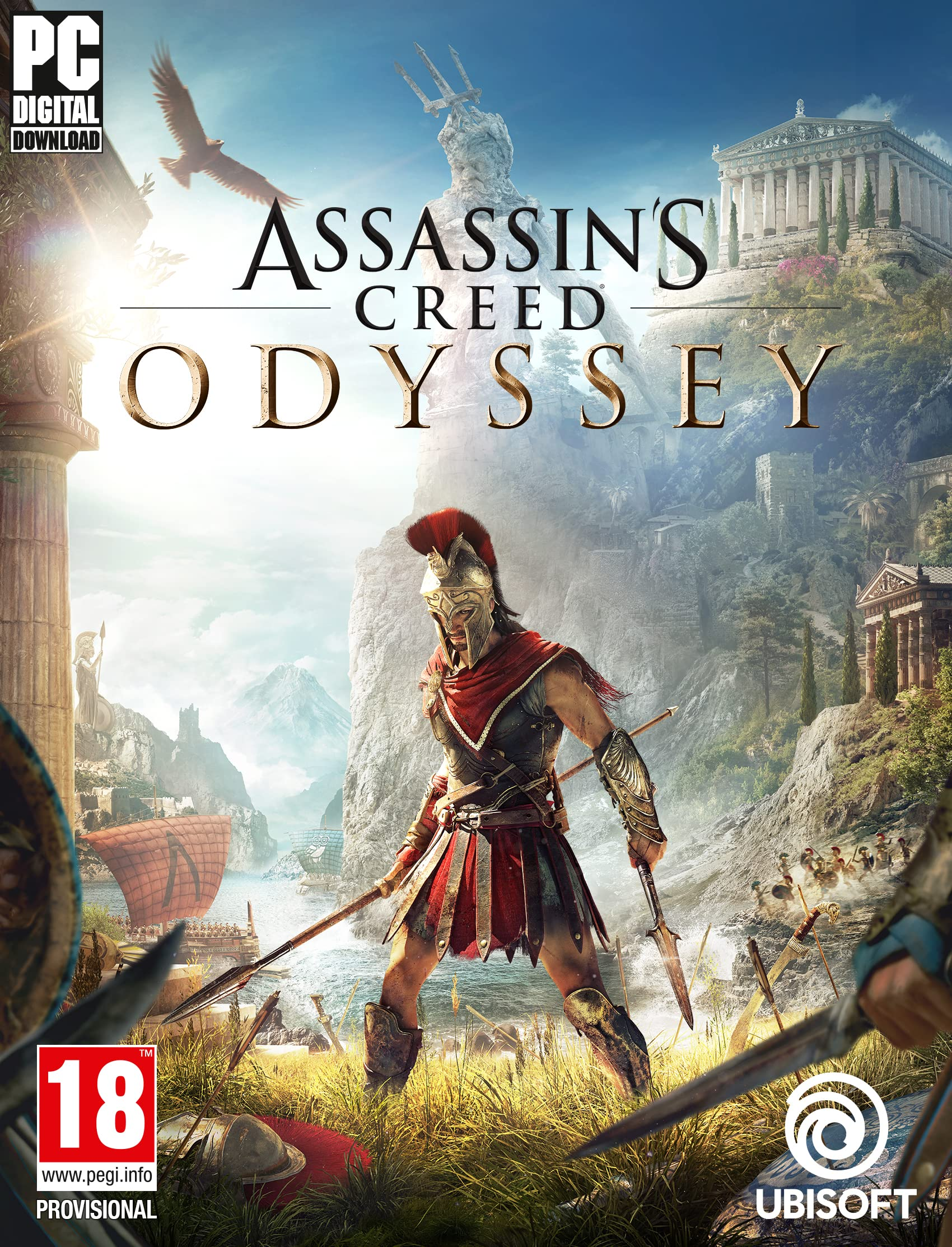 Assassin S Creed Odyssey Pc Code Uplay Amazon Co Uk Pc Video Games