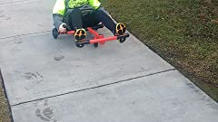 Amazon.com: EzyRoller Classic Ride On, talla única , Rojo ...