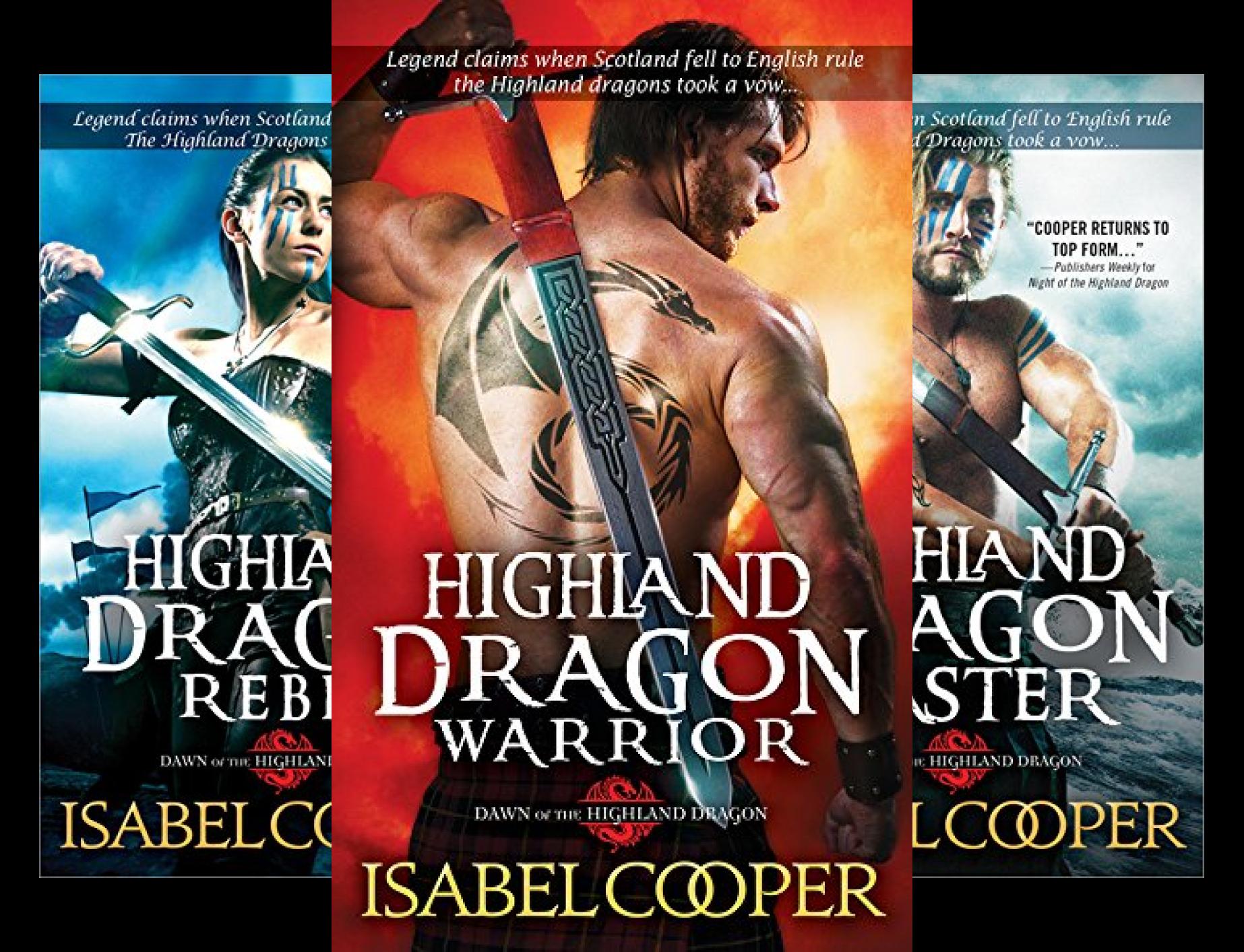Dawn of the Highland Dragon (3 Book Series)