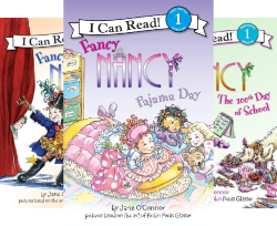 Fancy Nancy Petite Library: 4 Mini Books (4 Book Series)