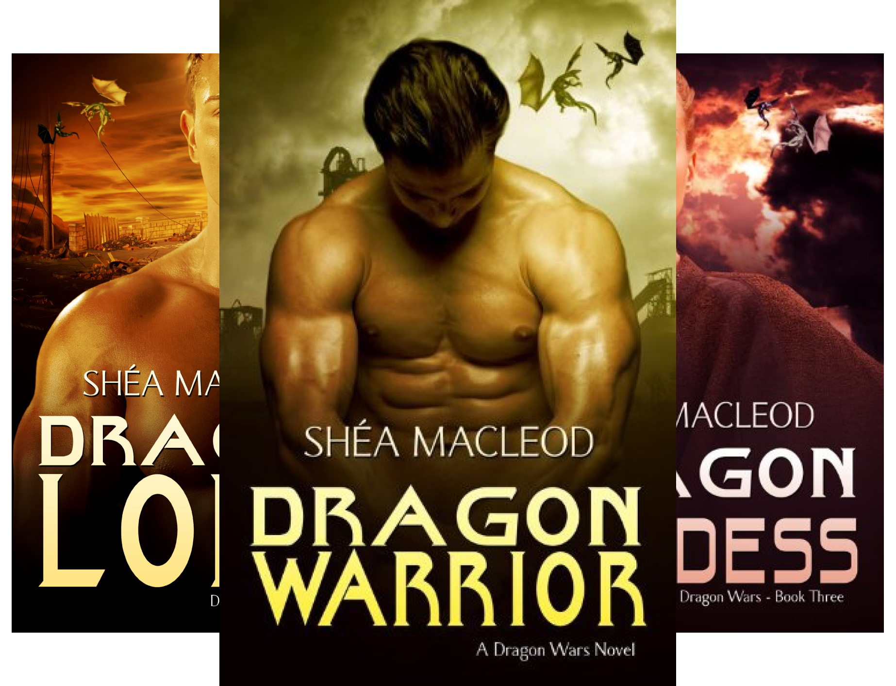 Dragon Wars (7 Book Series)
