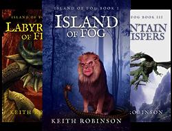 Island of Fog (9 Book Series) by  Keith Robinson
