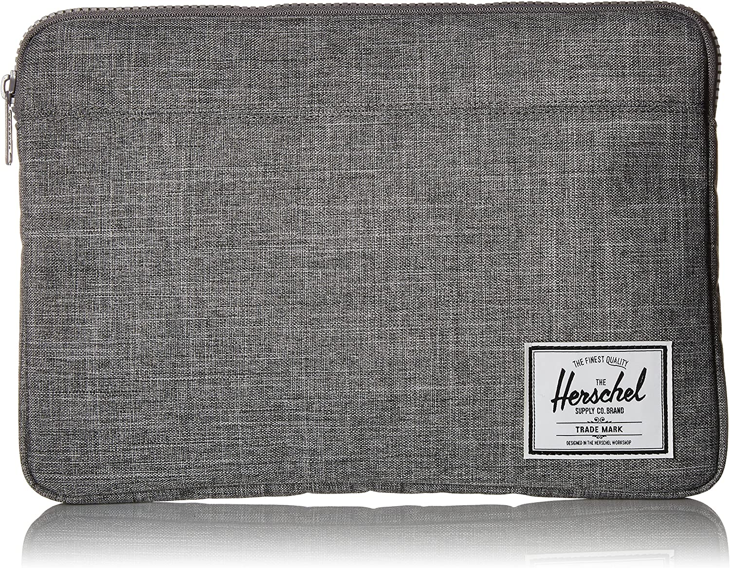 Herschel Anchor Sleeve for MacBook/iPad, Raven Crosshatch, 13-Inch