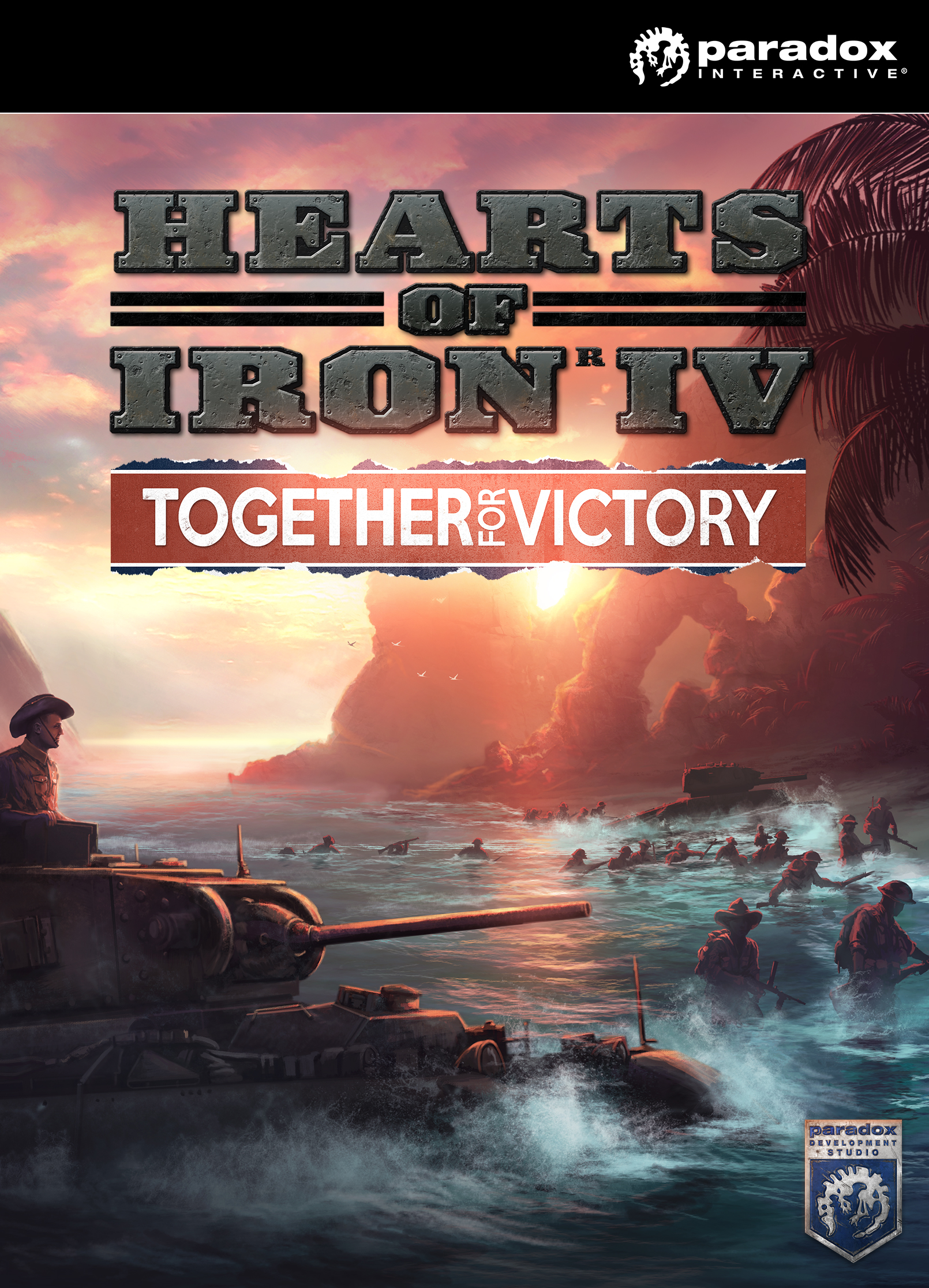 Hearts of Iron IV - Together for Victory [Online Game Code] by Plug In Digital
