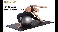 XHXseller Yogamatte rutschfeste Fitness-Trainingsmatte Pilates-Matte Stra #LY