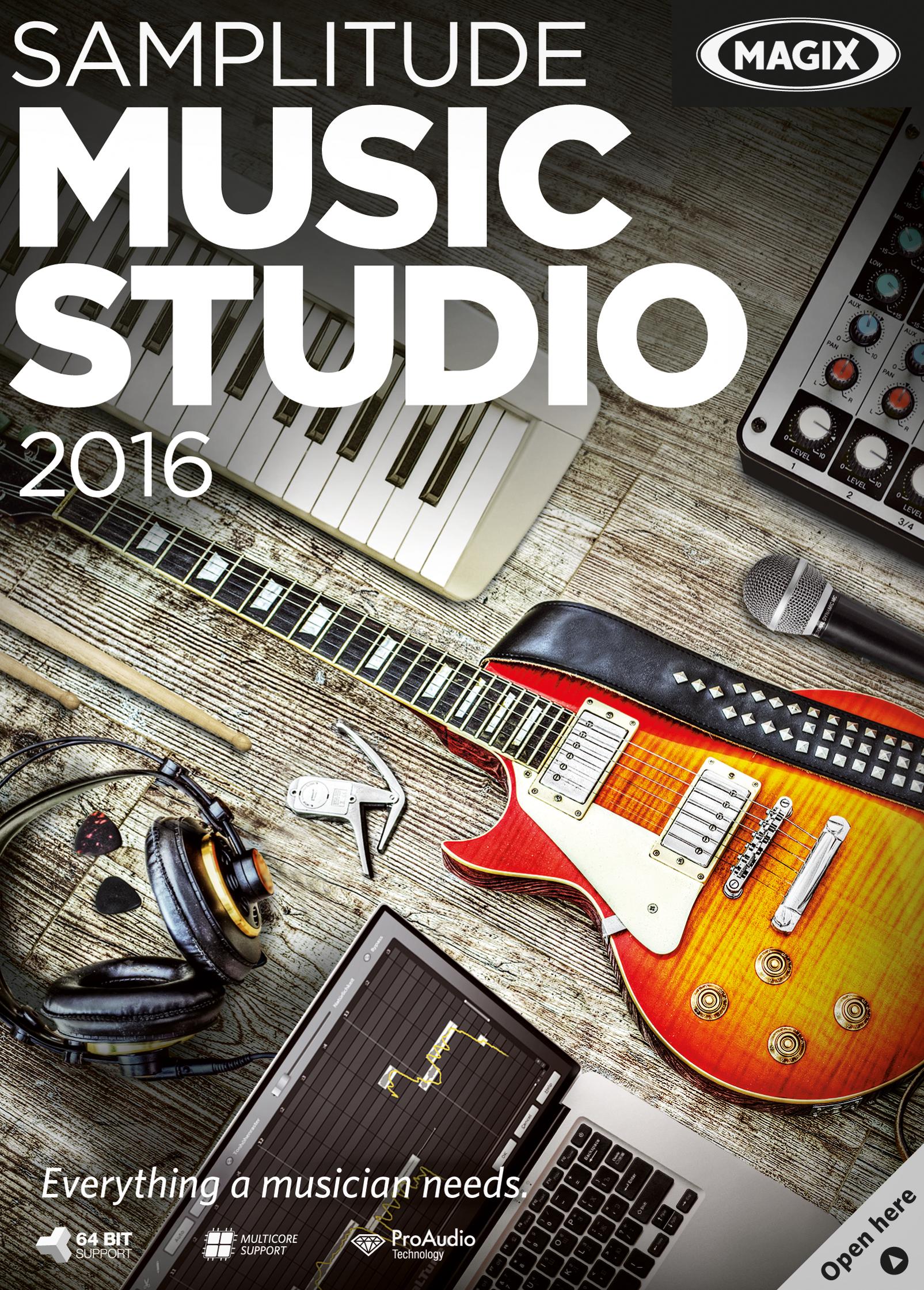 MAGIX Samplitude Music Studio 2016 [Download] by MAGIX