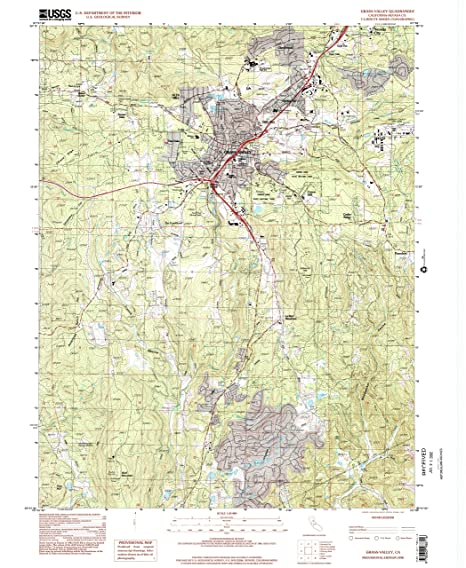Amazon.com : YellowMaps Grass Valley CA topo map, 1:24000 ...