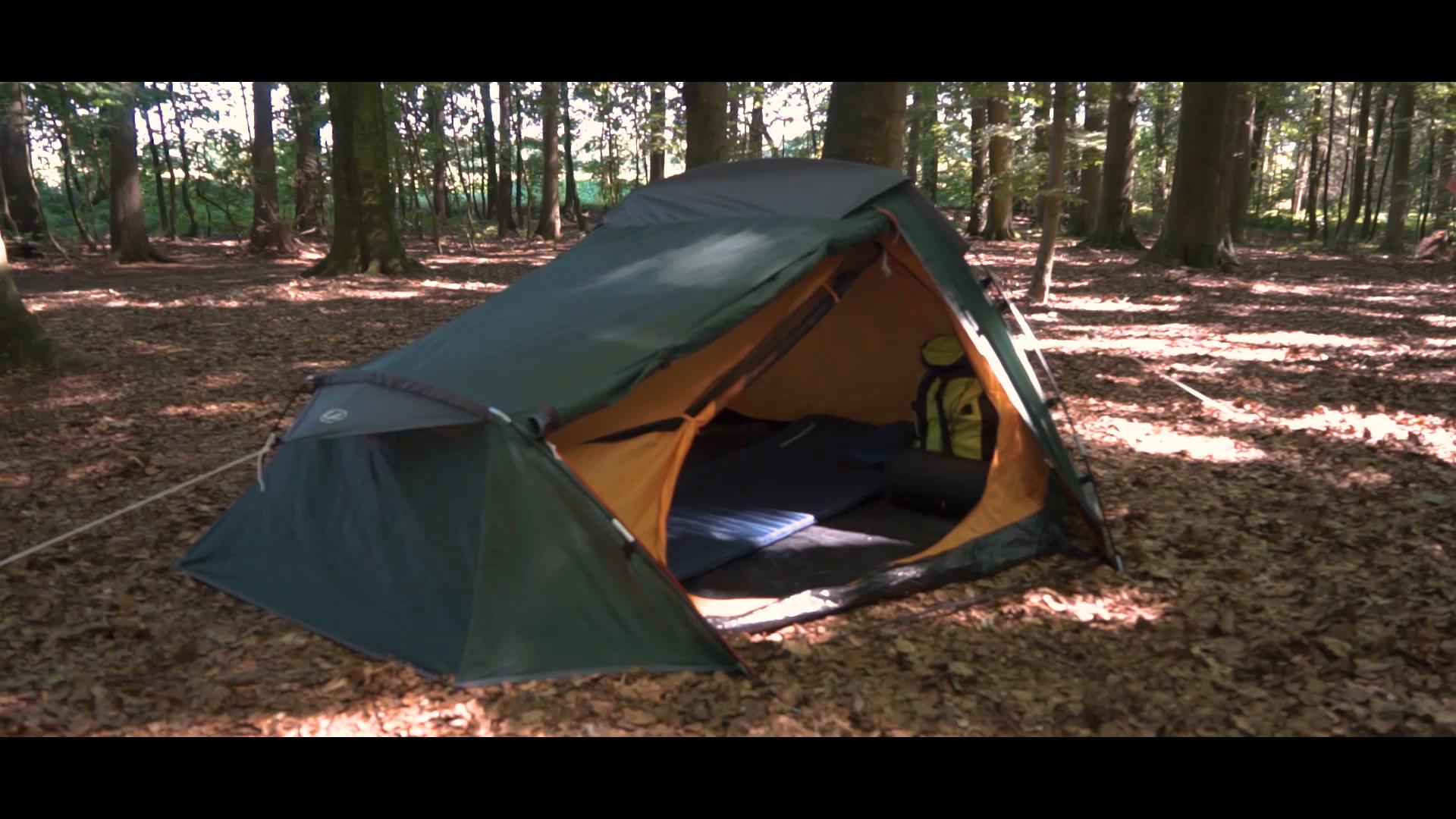 Ultrasport Tienda de campaña adecuada para festivales, camping y trekking, se entrega con bolsa de transporte… 6