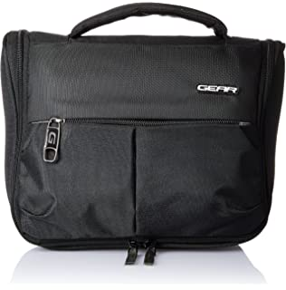 1646ded60a Skybags Black Toiletry Bag (KITTIOLBLK)  Amazon.in  Bags